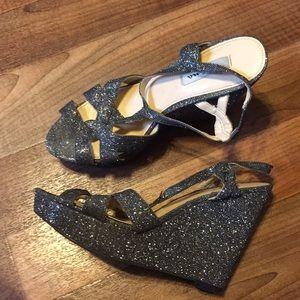 Nina strappy glitter heels size 9USA